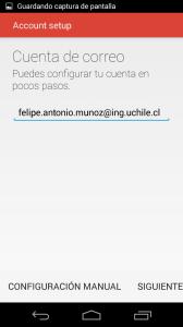 paso 4 configuración gmail movil