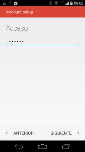 paso 6 configuración gmail movil